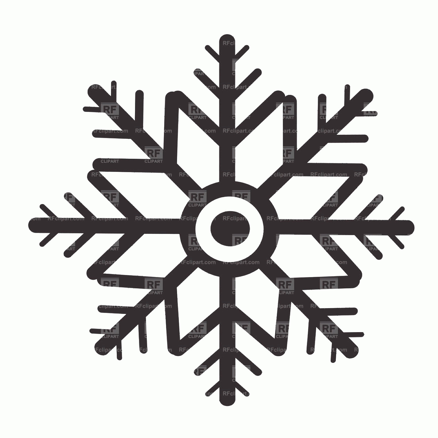 R Transparent Background Vector: Vector Snowflakes Clipart Transparent Background