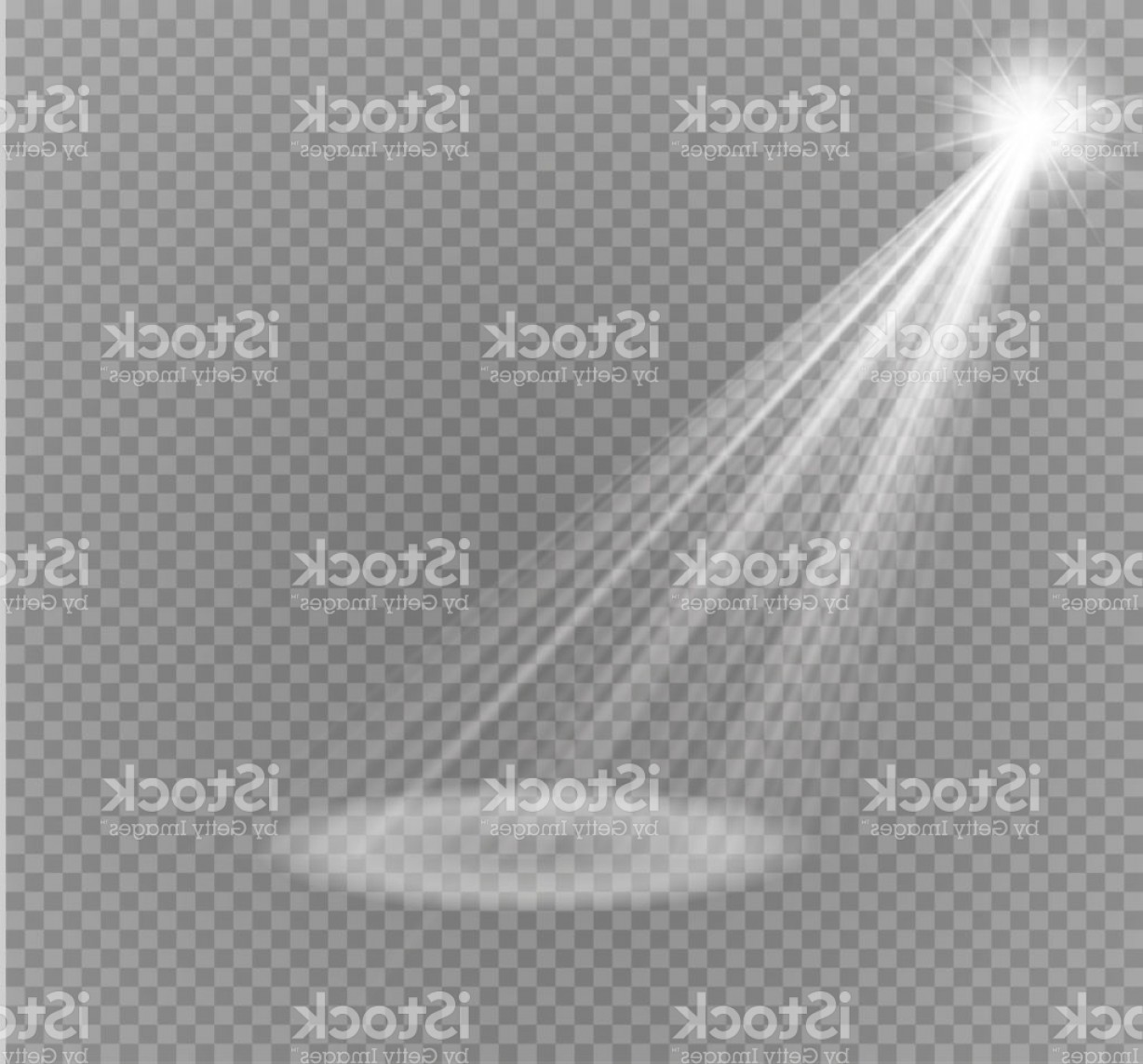Transparent Brown Vector Background: Vector Spotlight Light Effectlight Beam Isolated On Transparent Background Vector Gm