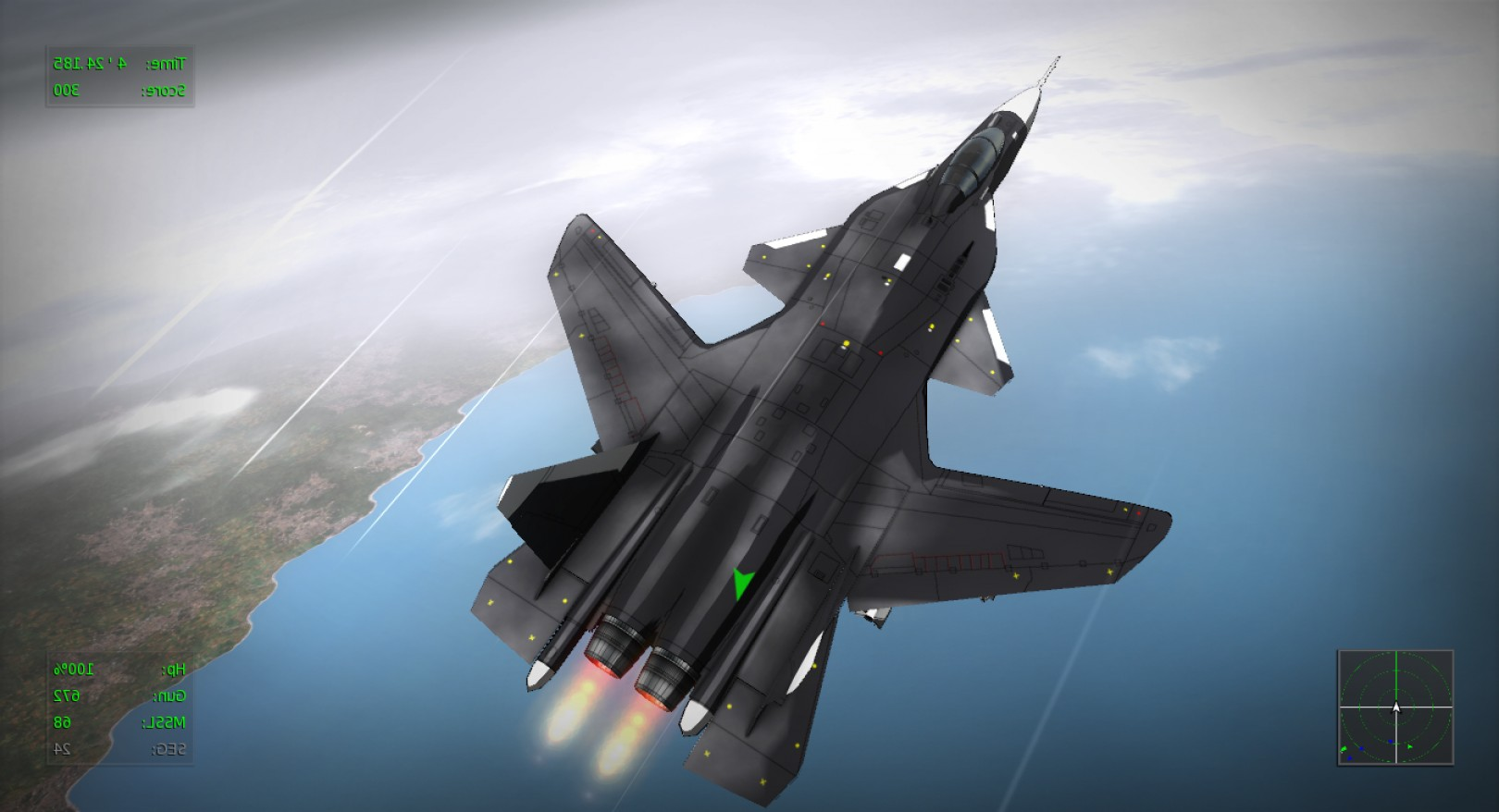 Vector The Game On PC: Vector Thrust Cel Shaded Flight Simulation Steam Pc Game Screenshots