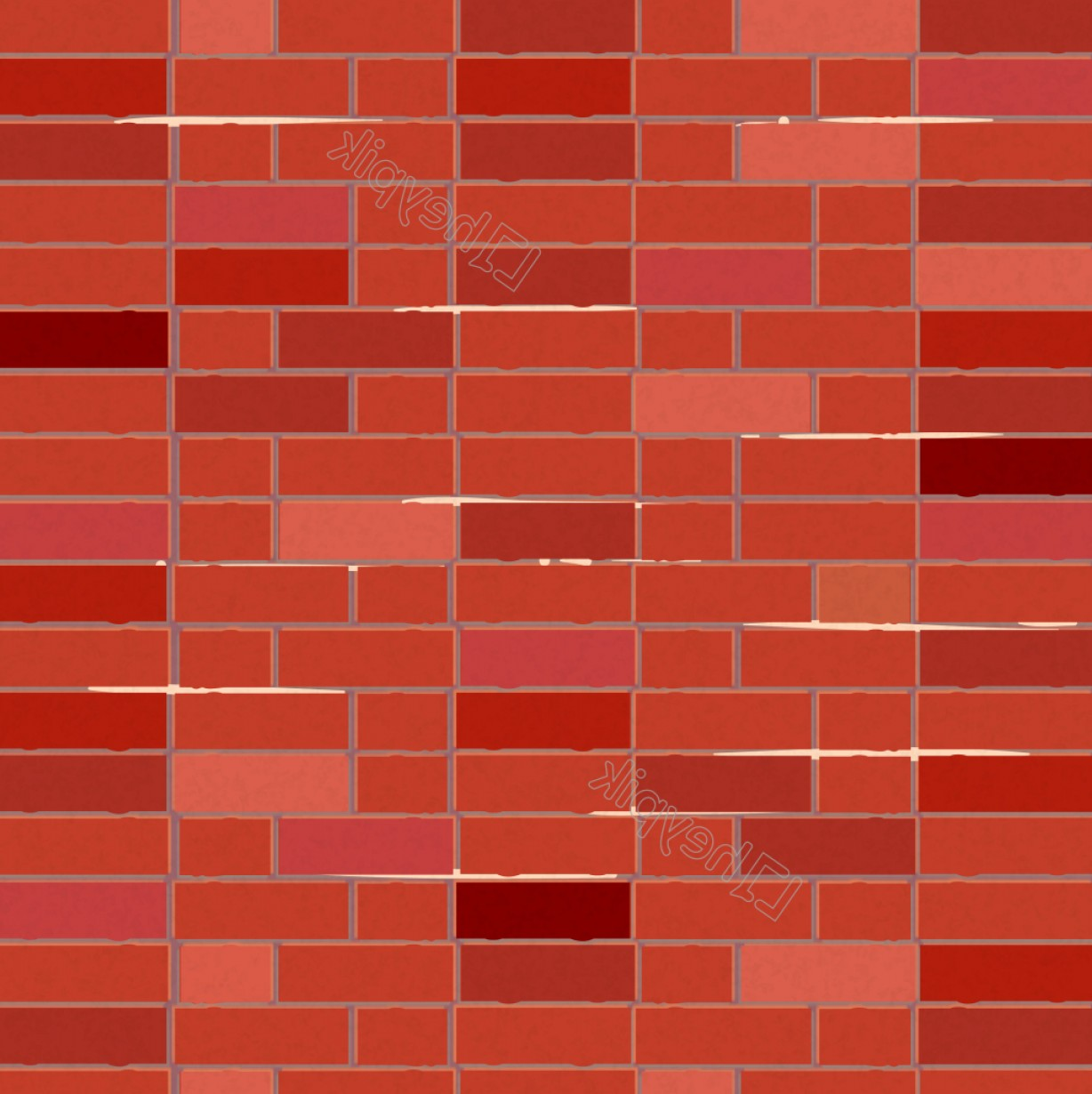 Brick Vector Ai File: Vector Vintage Red Brick Wall Background