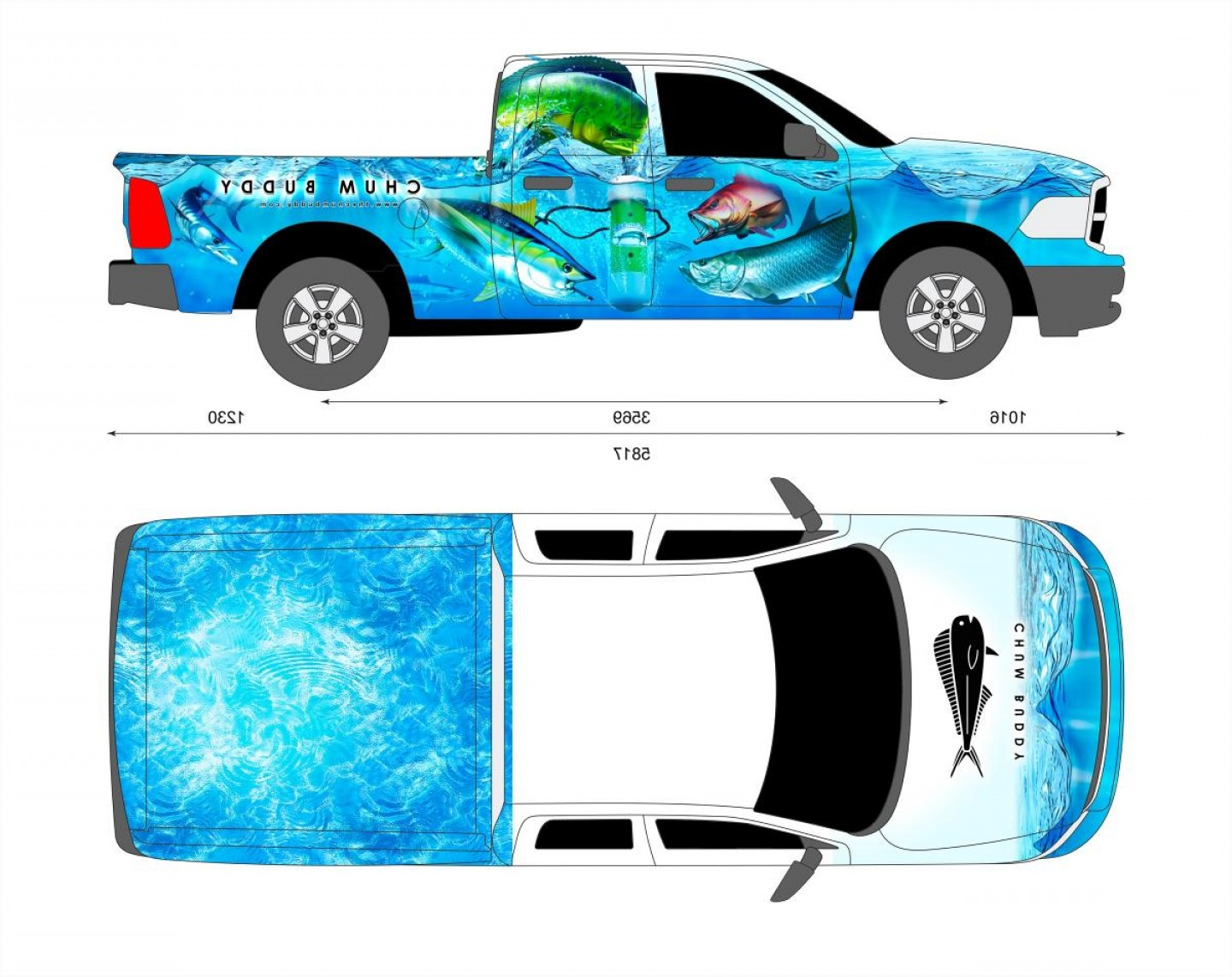 Vector Car Wrapped: Vehicle Wrap Templates Using Templates Trim Steps