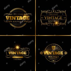 Custom Beer Labels Vector Graphics: Vintage T Shirt Labels