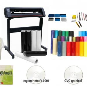 Vector Vinyl Rolls: Vinyl Cutter Plotter Package P