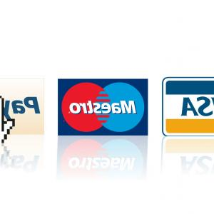 MasterCard Credit Card Logo Vector: Visa Mastercard Paypal Logos Online Shopping Payment E Commerce Purchase Nneewoeue