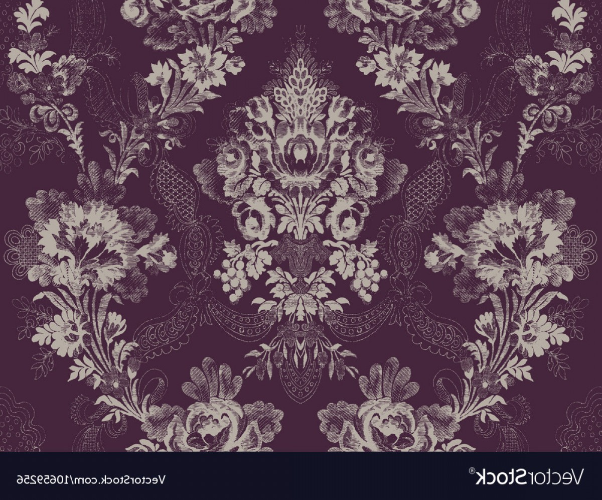 Victorian Motif Vector: Victorian Floral Pattern Abstract Flower Ros Vector