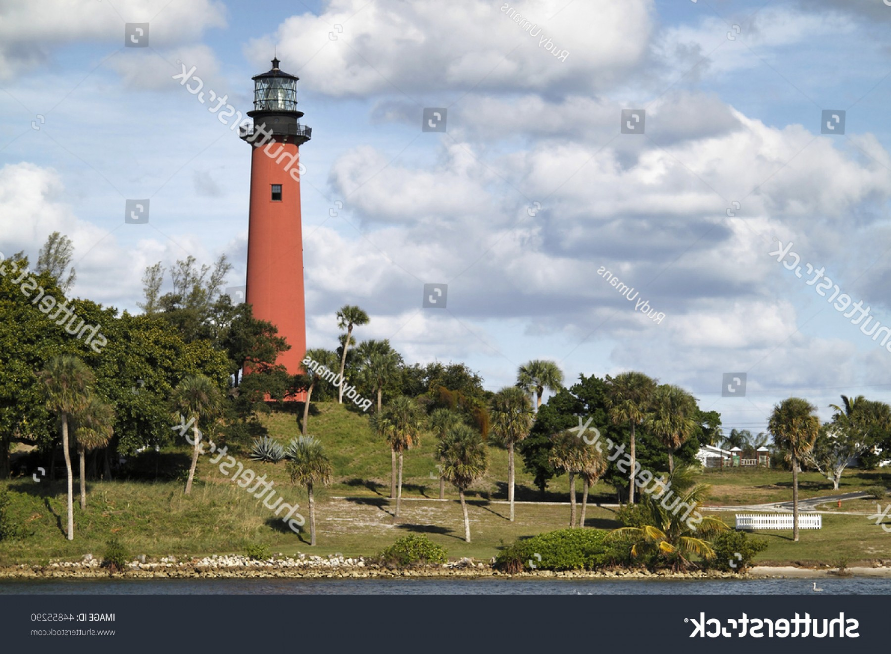Jupiter Lighthouse Vector: View Jupiter Lighthouse Palm Beach County