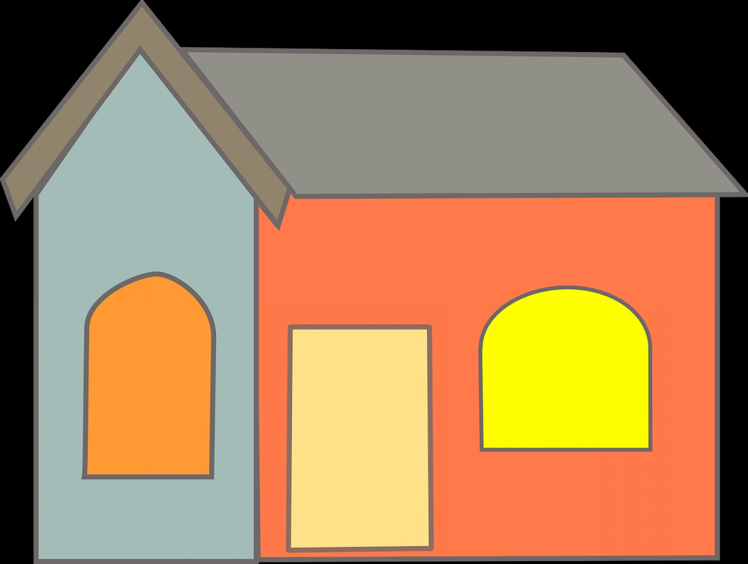 Shed PNG Vector: Villa House Home D Free Vector Graphics