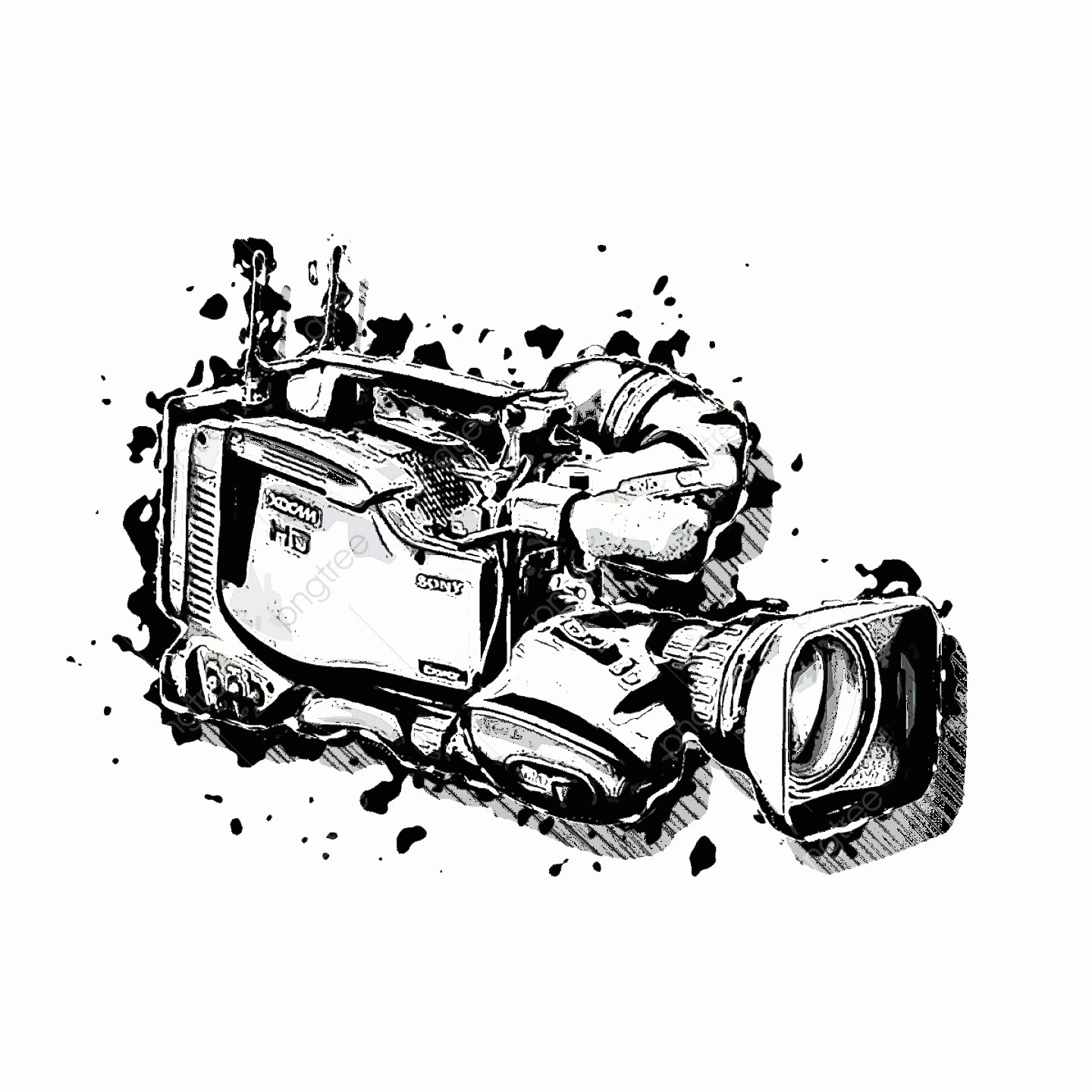 Classic Camera Vector: Vintage Camera Film Cameras Vector