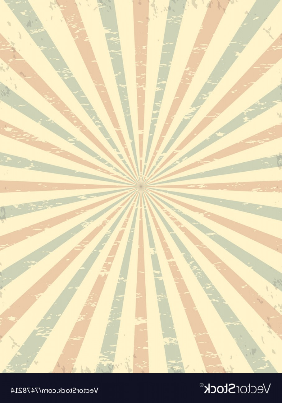Circus Background Vector: Vintage Grunge Circus Background Vector