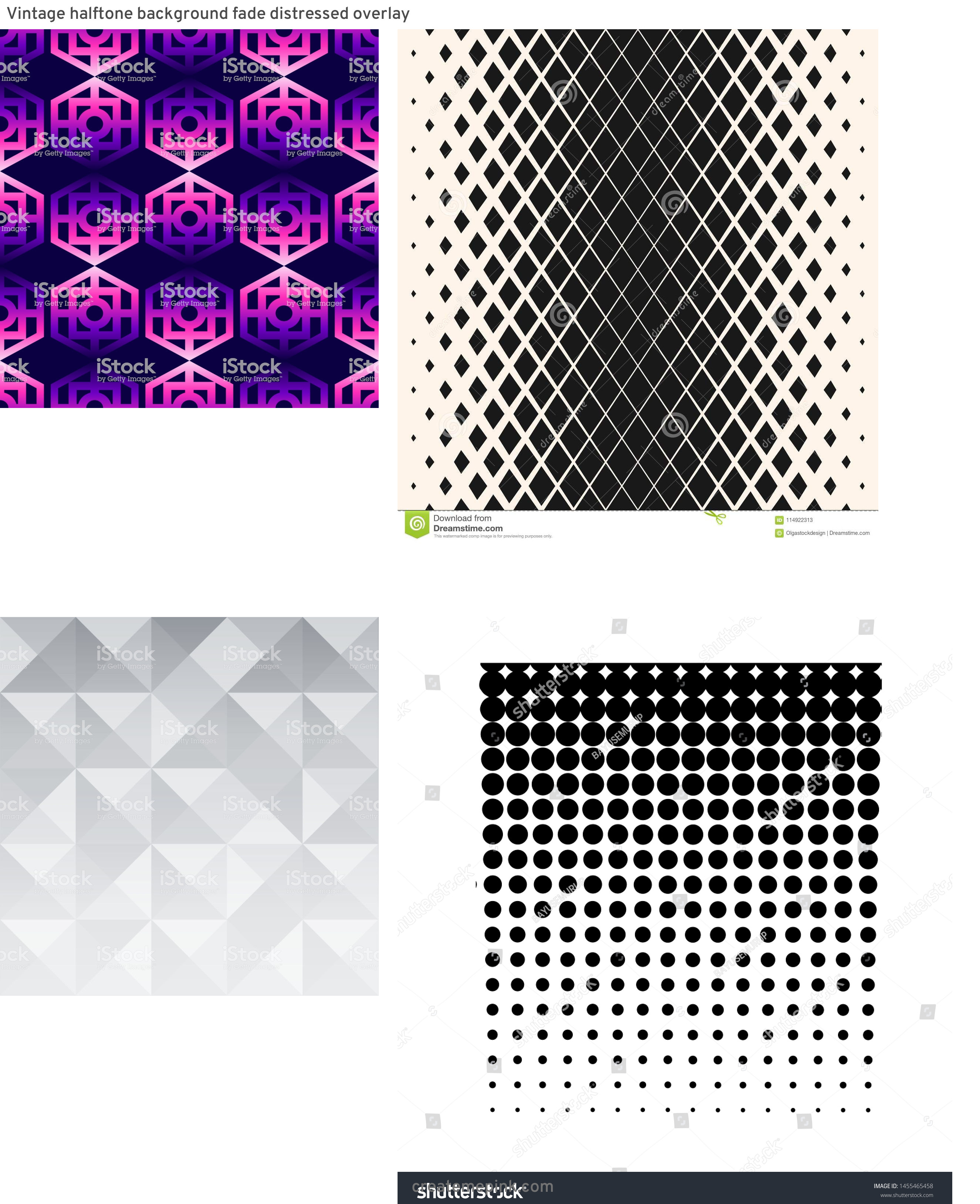 Modern Fading Vector Pattern: Vintage Halftone Background Fade Distressed Overlay