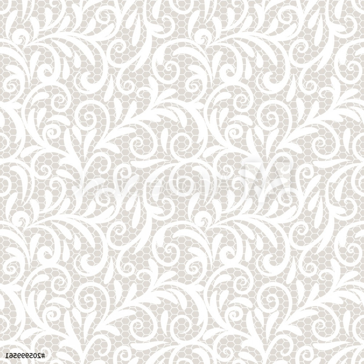 Tulle Black Lace Pattern Vector: Vintage Lace Ornament Elegant Tulle Texture Vector Seamless Pattern F