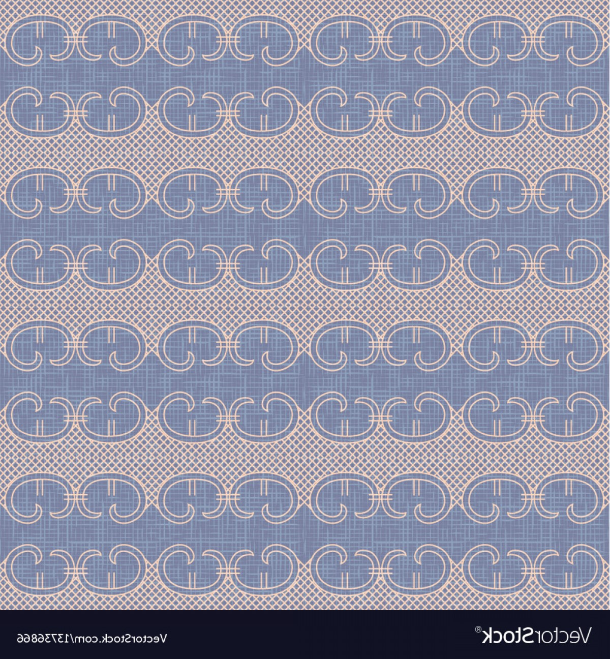 Floral Lace Trim Vector: Vintage Lace Trim Seamless Pattern Background Vector