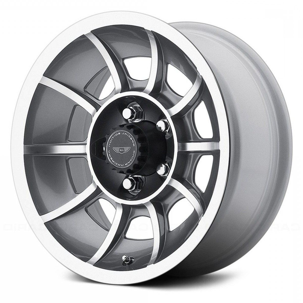 American Racing Vector Rims: Vn Vector Pc Anthracite Machined Face
