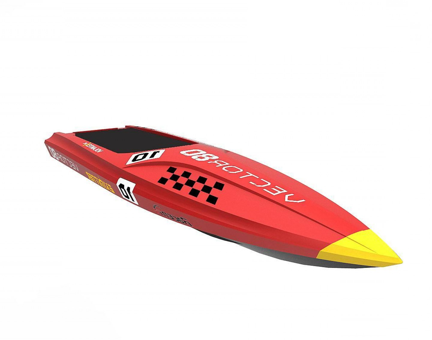 Model Planes Parts Vector: Volantex Racent Vector Rc Boat Parts P Hull
