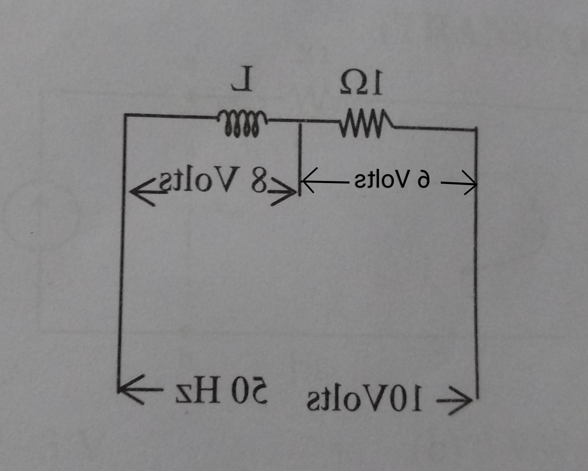 Reactance Vector Diagrams: Voltage Drops Are Greater Than Source Voltage How Is It Possible
