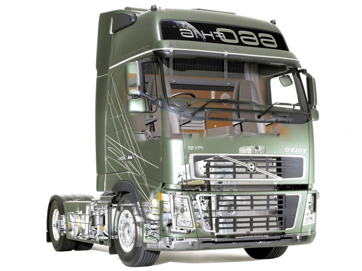Volvo FH Vector: Volvo Fh X Tractor Globetrotter Xl Cab Design Interior Exterior Truck
