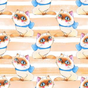 Vector Cats 3: Animals Morning Image Of Calico Cats