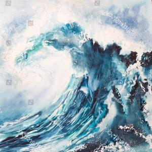 Awesome Ocean Wave Vector: Awesome Design Waves Clipart Black And White Ocean Wave Illustration Simple Line Drawing
