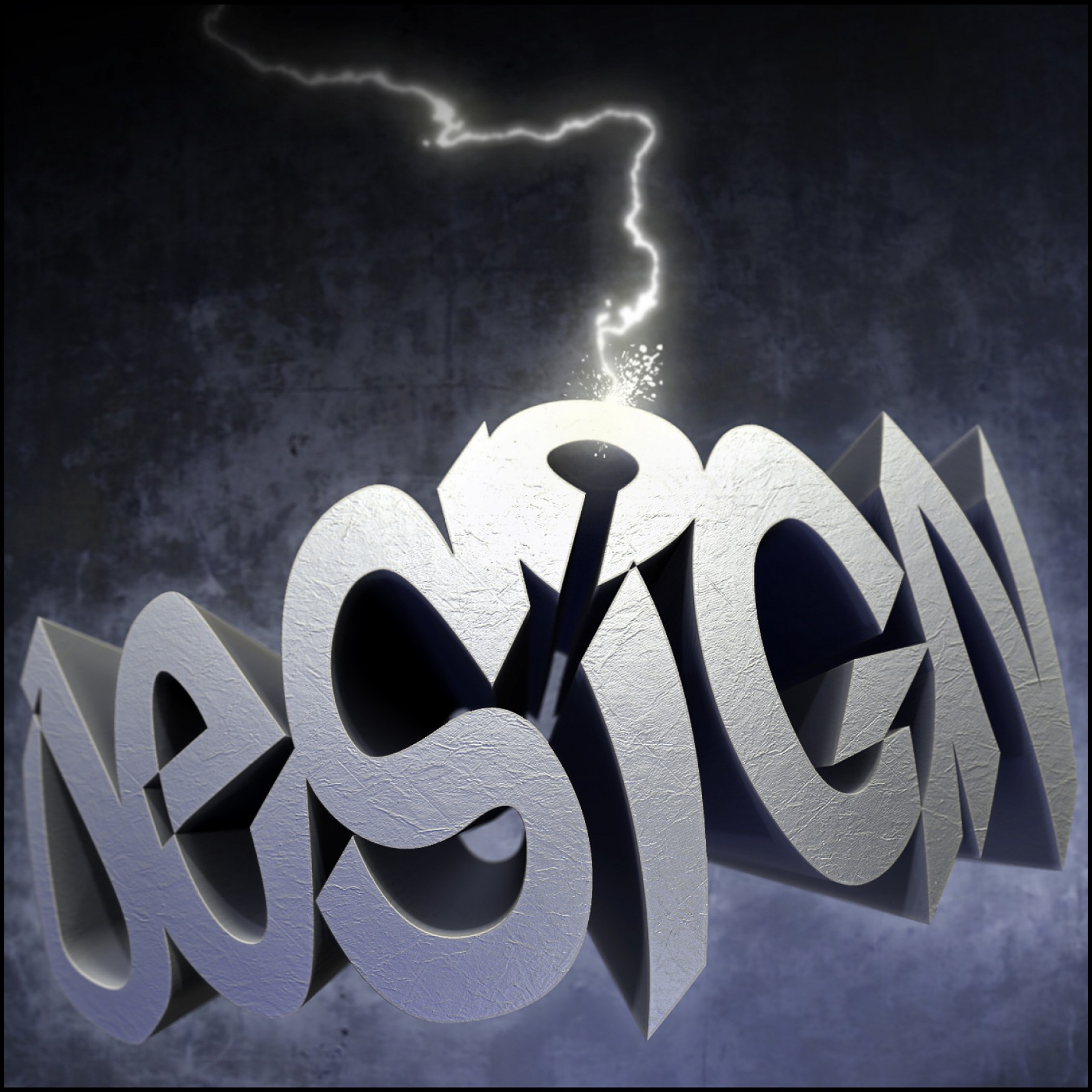 Vector In Photoshop CS5: Warped D Text Using Photoshop Repousse And Zbrush
