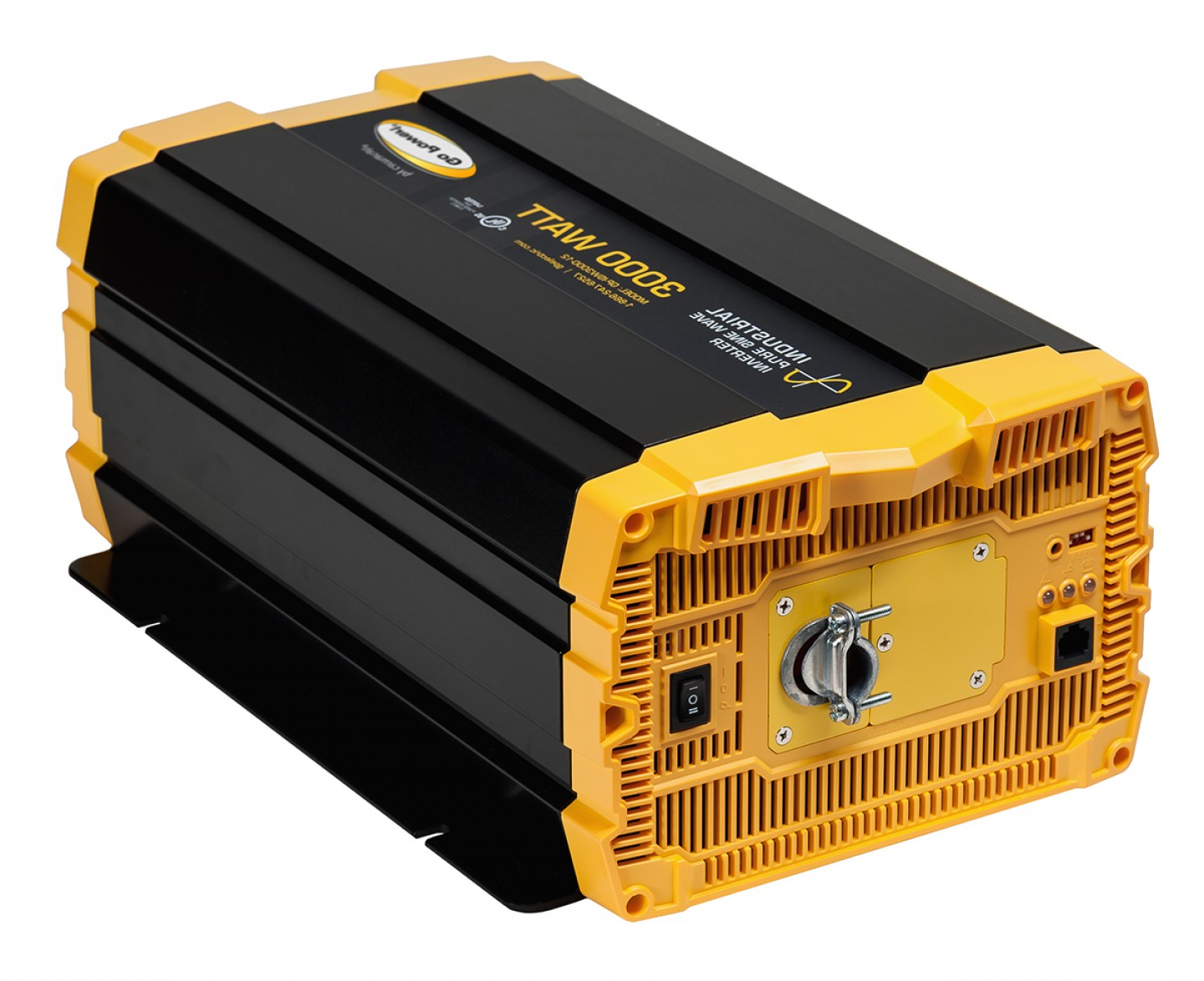 Vector Inverter 3000: Watt Industrial Pure Sine Wave Inverter