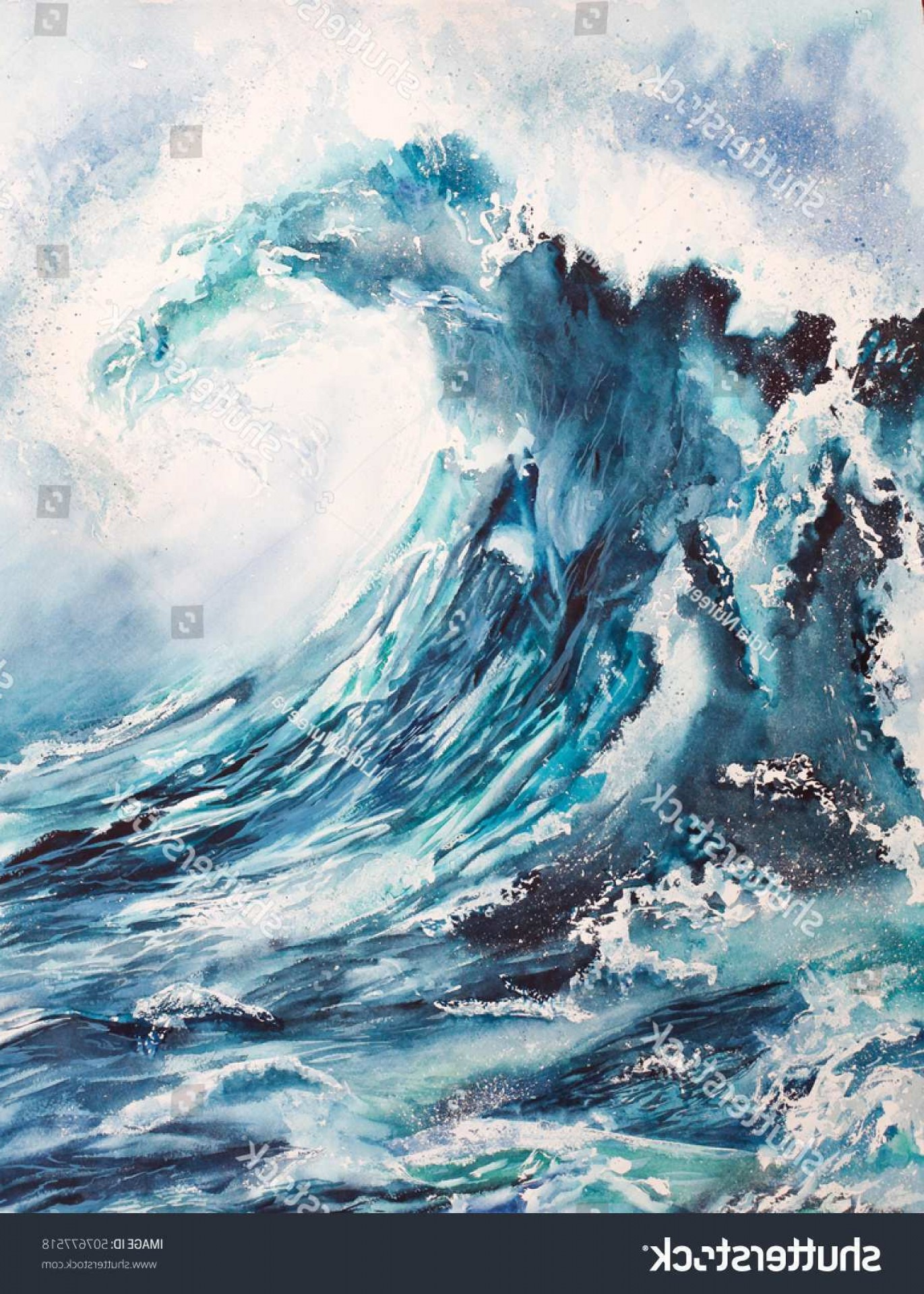 Awesome Ocean Wave Vector: Wave Painting Awesome David Gayda Marine Seascape And Wave Painting Artist