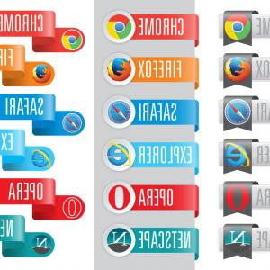 Vector Chrome Browser: Free Chrome Browser Mockup Design Template Vector