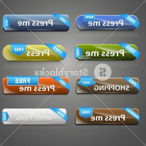 Web Buttons Vector: Web Buttons Vector Set Hp Evsmuzjgosfpi