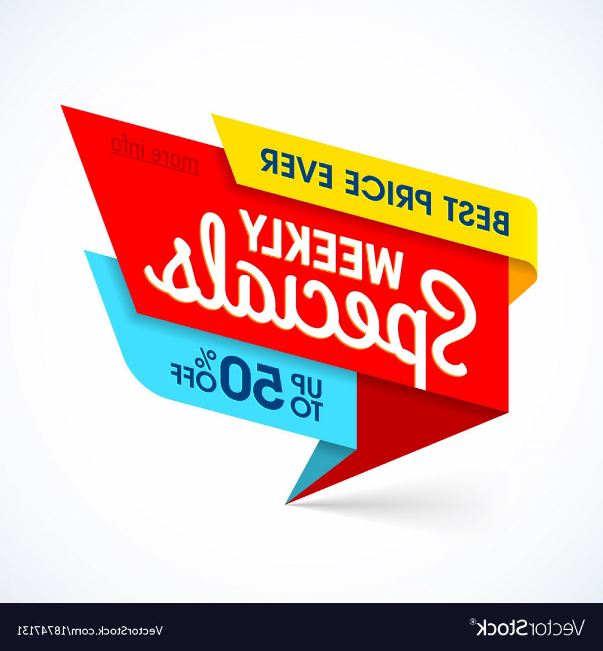 Special Offer Vector: Weekly Specials Sale Banner Template Special Offer Vector