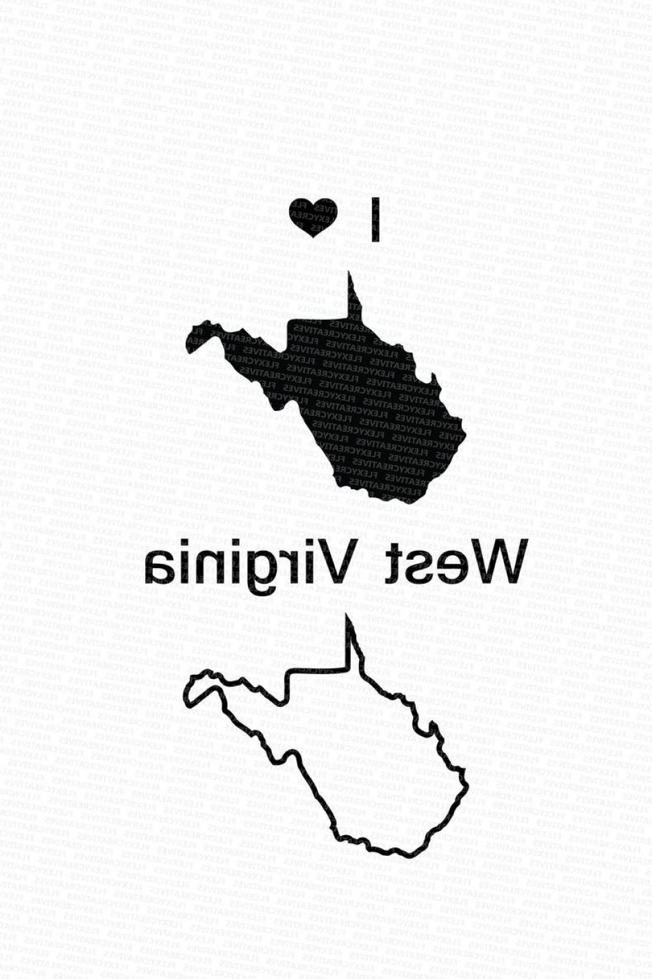 West Virginia Vector Files: West Virginia Vector State Clipart West