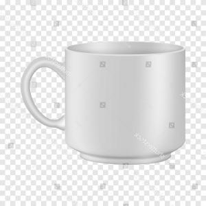 Coffee Cup Vector White: White Tea Coffee Cup Mockup Realistic