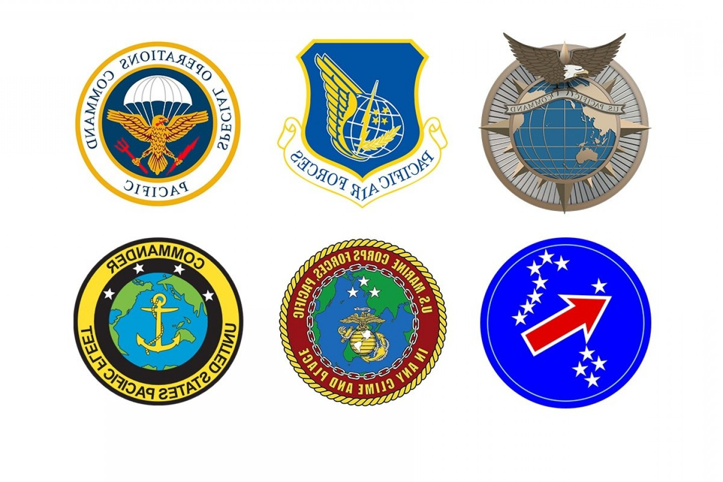 United States Armed Forces Logo Vector: What Happens To All The Us Pacific Command Logos Now That It Has A New Name