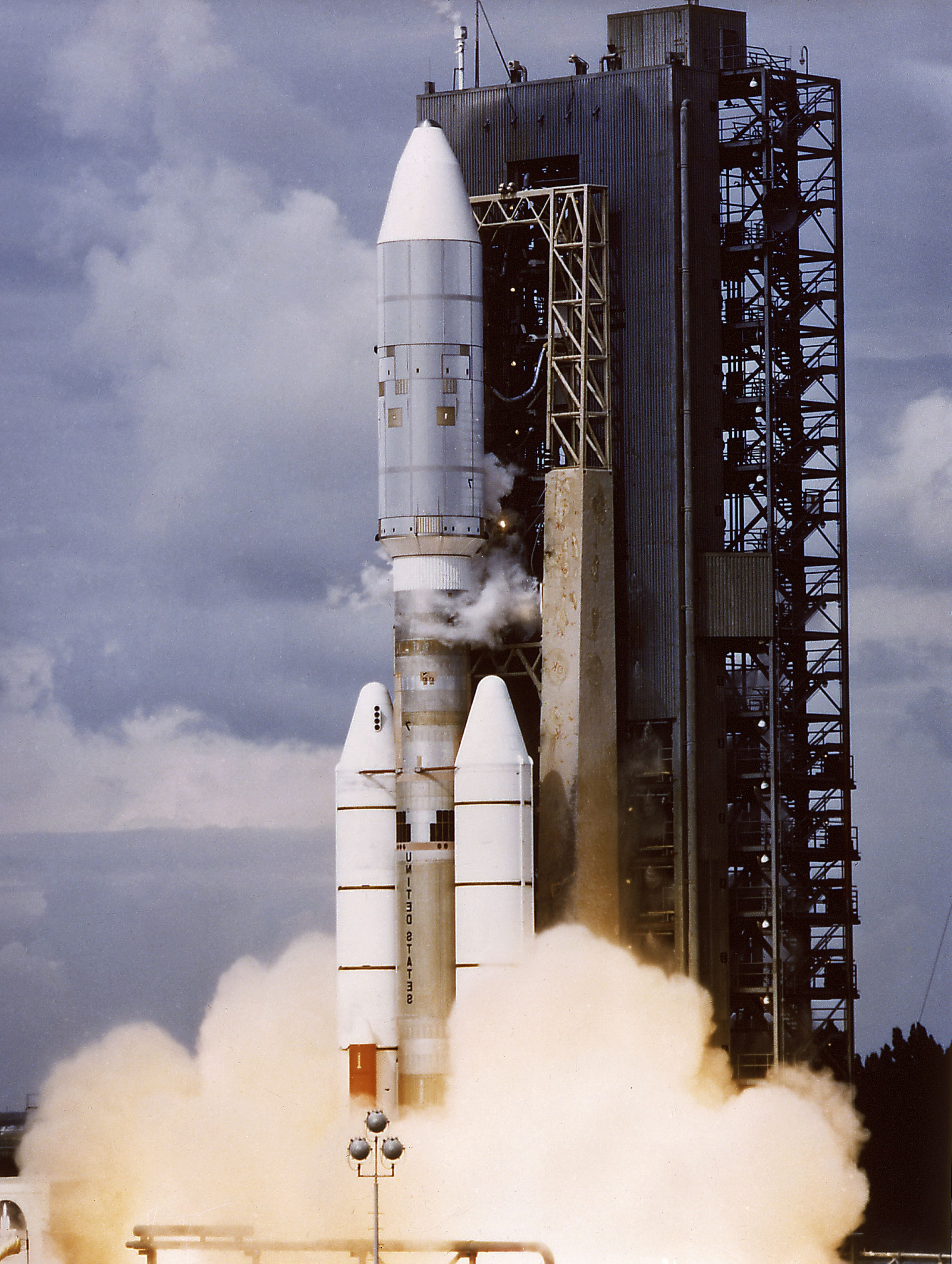SRB Thrust Vector Control System: What Was The Purpose Of The Small Red Tank Attached To The Titan Centaur Launche
