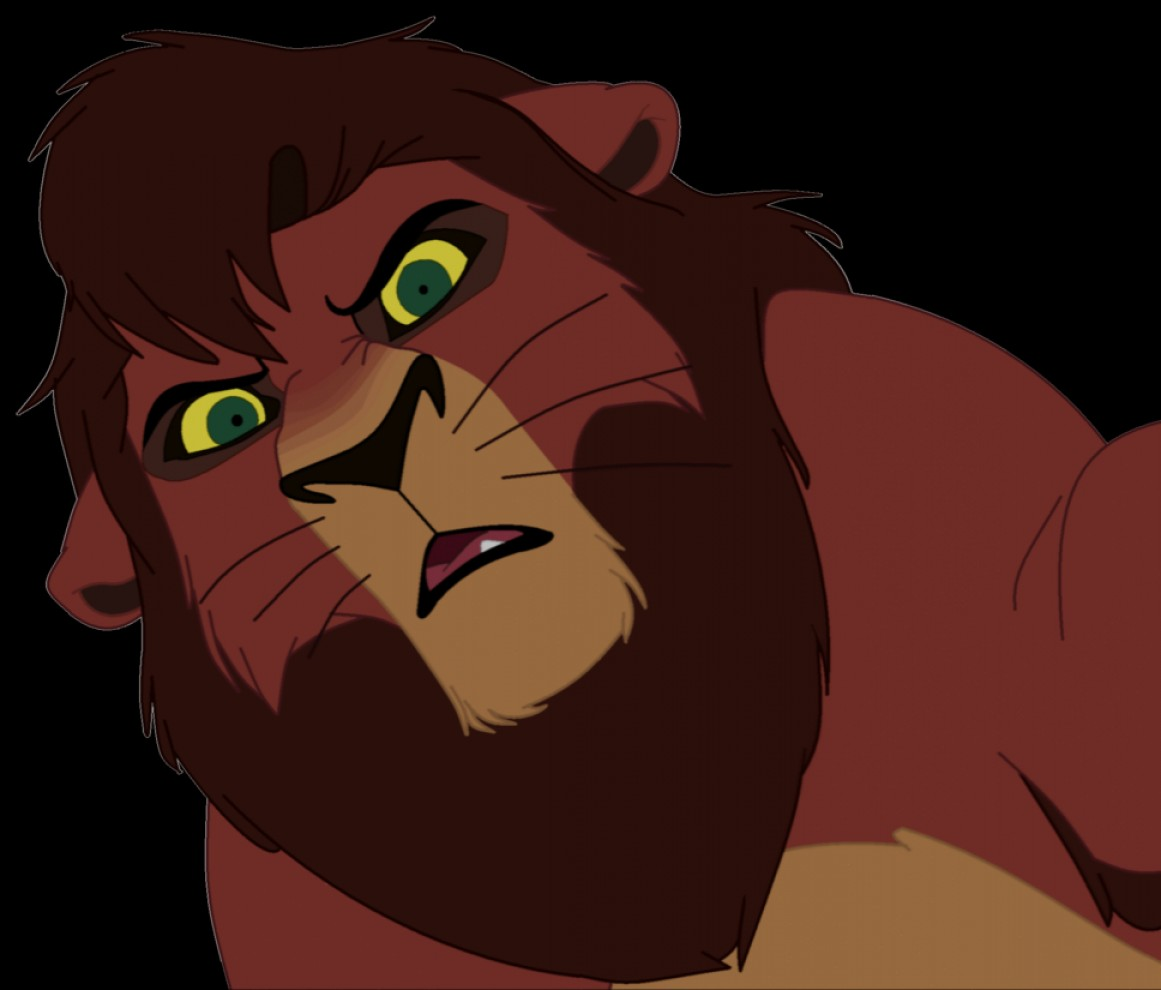 Nala Vector: What You Got Boy Is Hard To Find Kovu Vector
