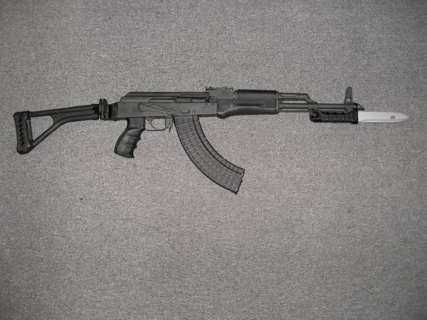 Vector Arms AK-47 Underfolder: Whats Best Battle Rifle For Woodland
