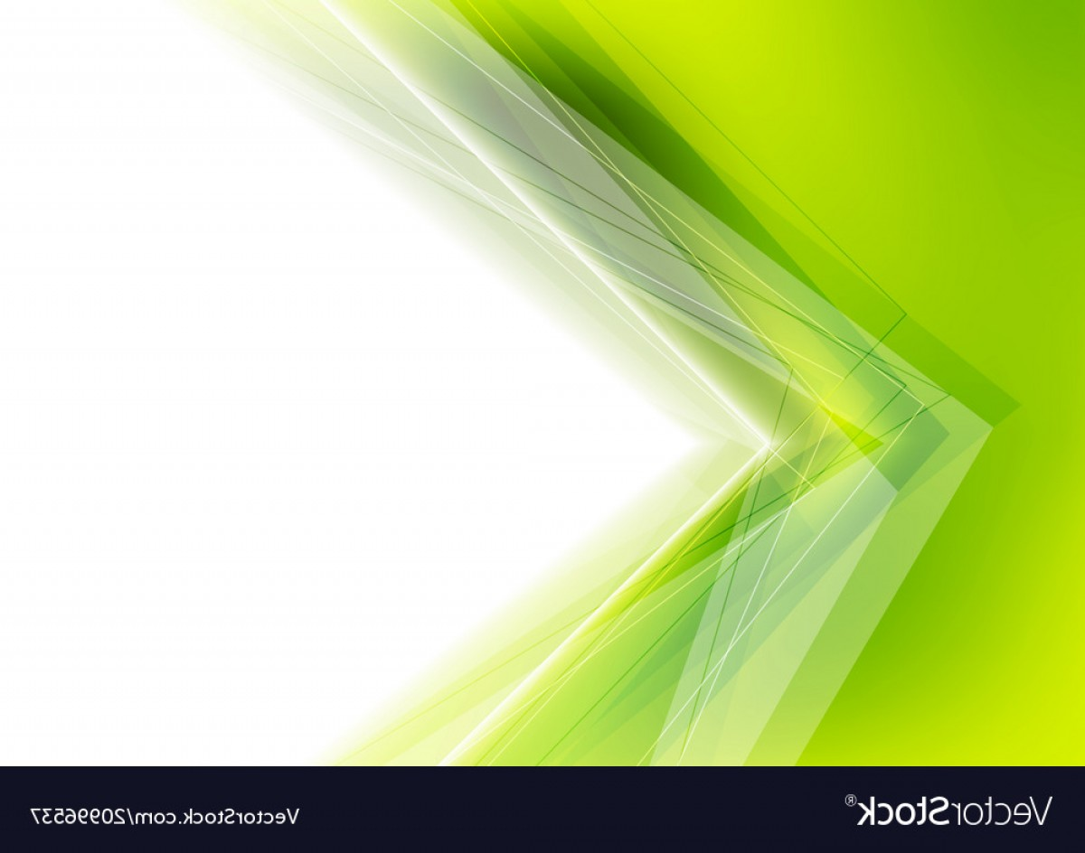 Green And White Vector: White And Green Abstract Background Vector