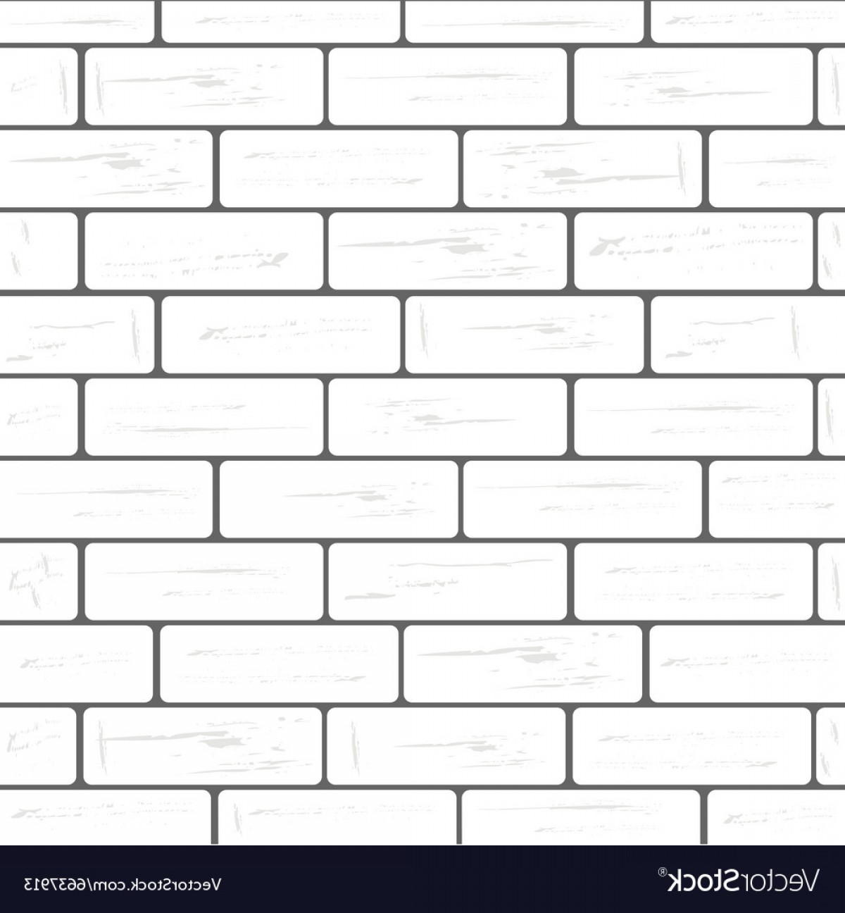 Wall Background Vector: White Brick Wall Background Vector