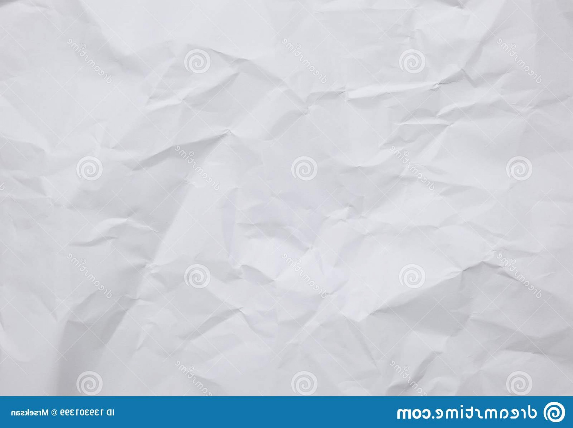 Crinkled Paper Vector: White Crinkle Paper Sheet Background Textures Abstract White Crinkle Paper Background Textures Image