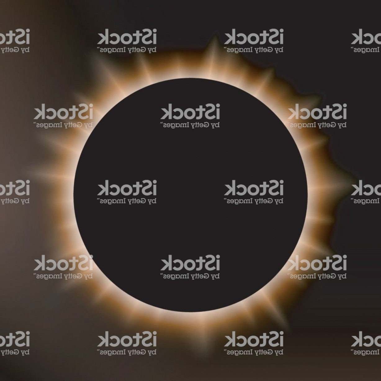 Whitew Eclipse Vector: White Eclipse Suitable For Product Advertising Natural Events Horror Concept And Gm