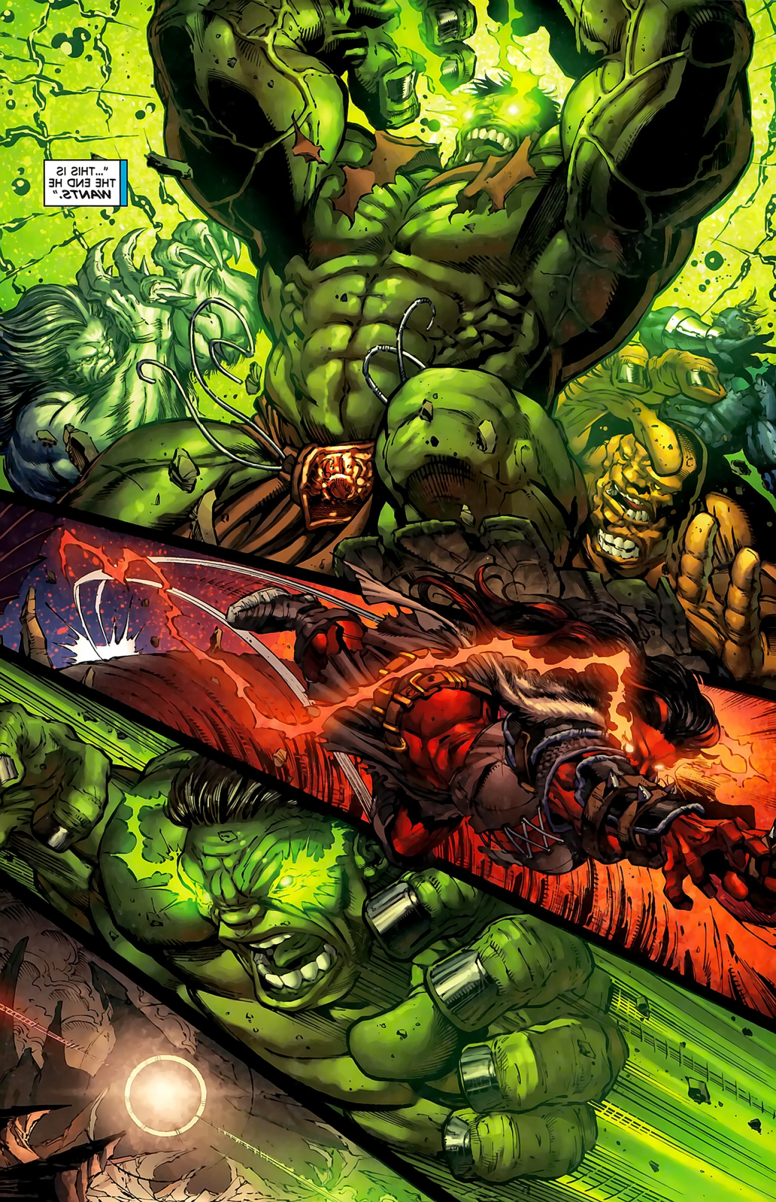 Hulk Origional Vectors: Who Could Take A Punch From World Breaker Hulk