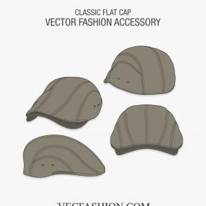 Vector Of Flat Bill Hat: Witch Hat Vector Icon Flat Design