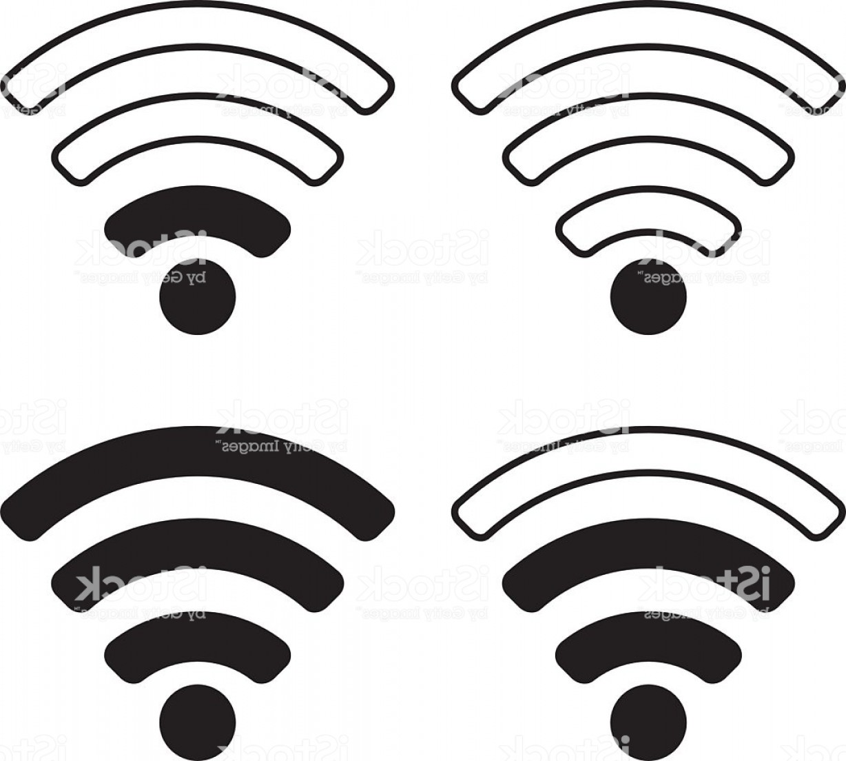 Wifi Symbol Clip Art Vector: Wifi Signal Symbol Icon Gm