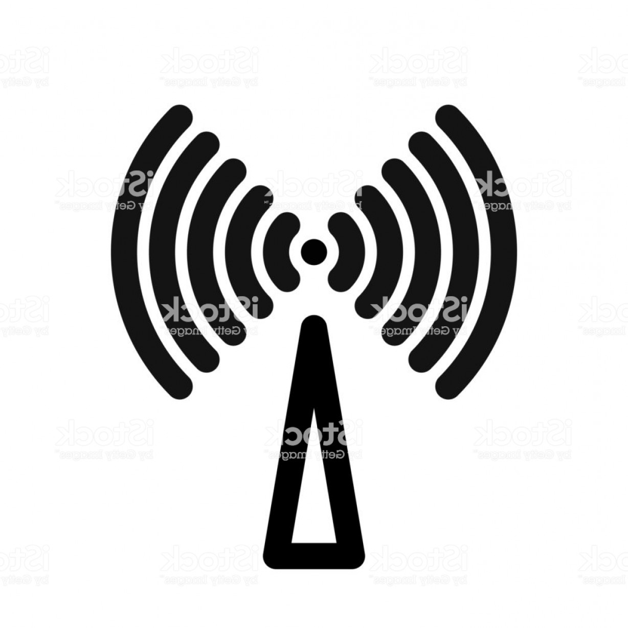 Wifi Symbol Clip Art Vector: Wifi Symbol Wireless Internet Connection Or Hotspot Sign Outline Modern Design Gm
