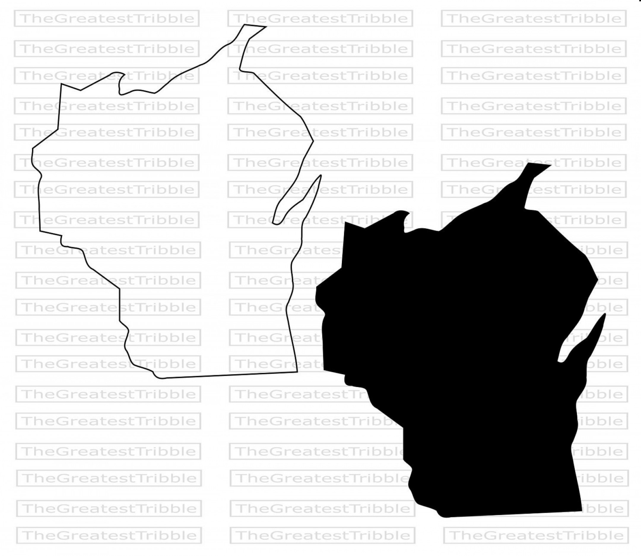 WI County Map Vector: Wisconsin State Map Svg Png Jpg Vector