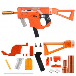 Kriss Vector Mods: Worker Mod Kriss Vector Kits Combo Items For Nerf Stryfe Toy Color Orange