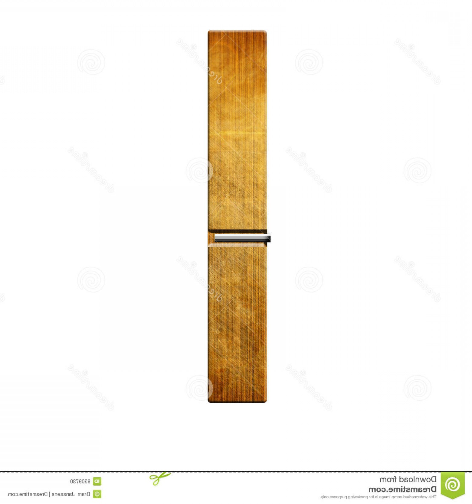 Vector Clothes Pins: Wooden Clothes Pin Isolated White Background