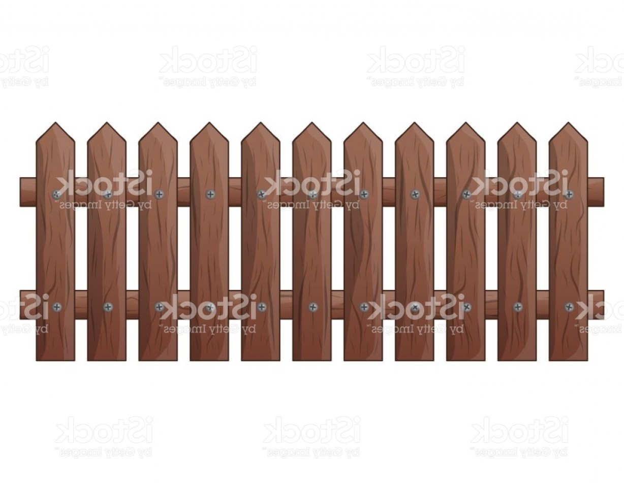 Outdoor Fence Vector: Wooden Fence Isolated Vector Symbol Icon Design Beautiful Illustration Isolated On Gm