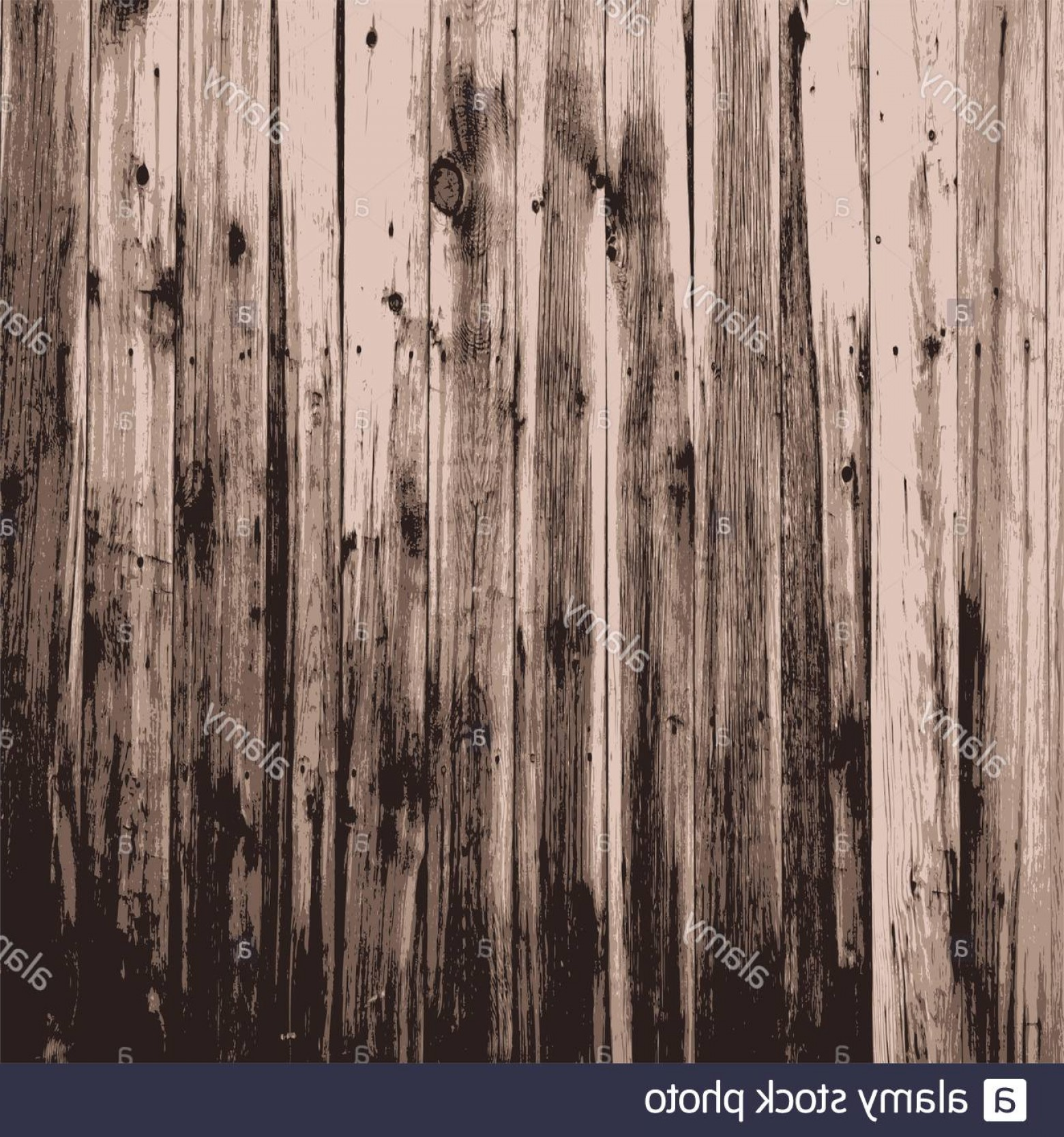 Wood Plank Vector Art: Wooden Texture Background Realistic Plank Vector Illustration Image