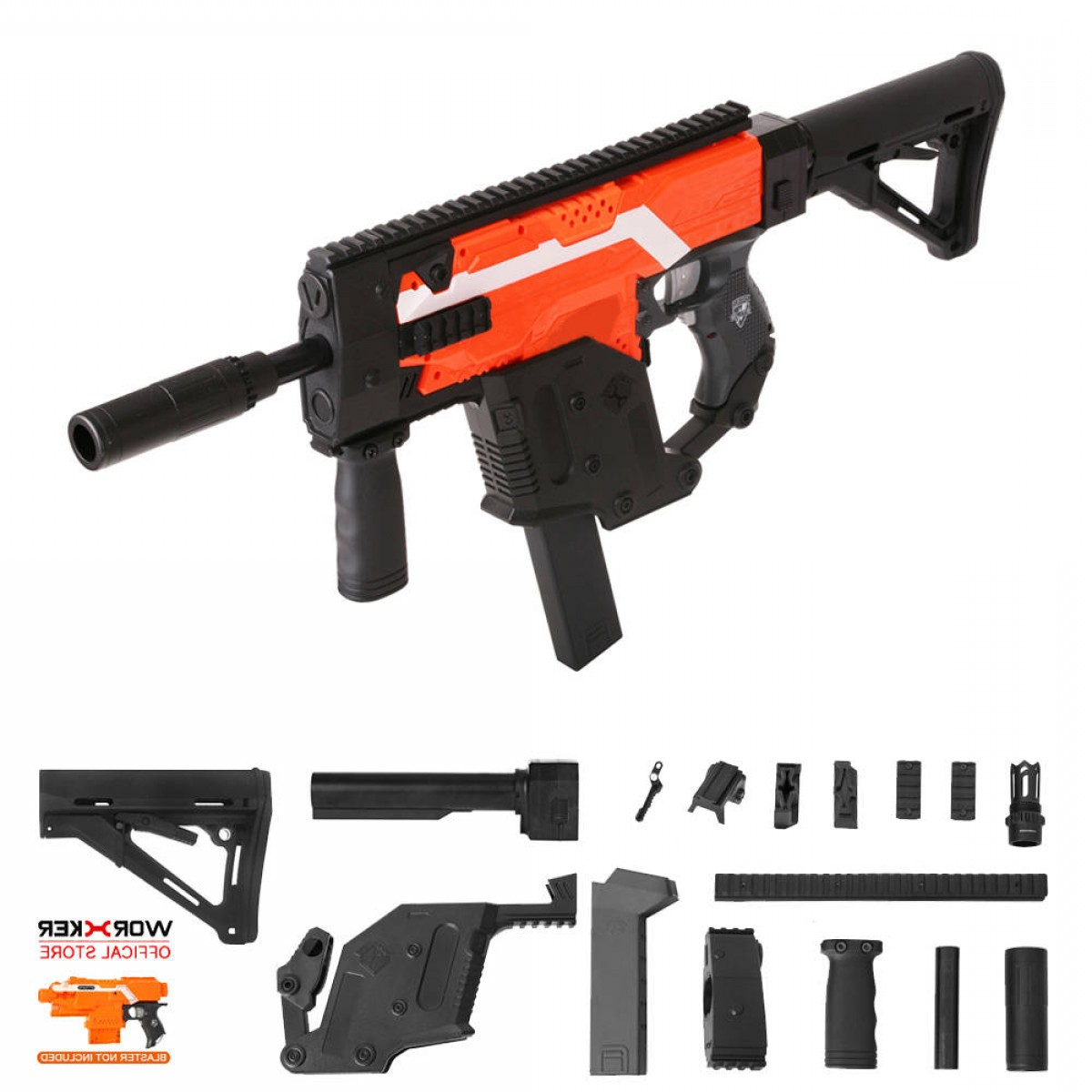 Painted Kriss Vector: Worker Mod Kriss Vector Imitation Kit