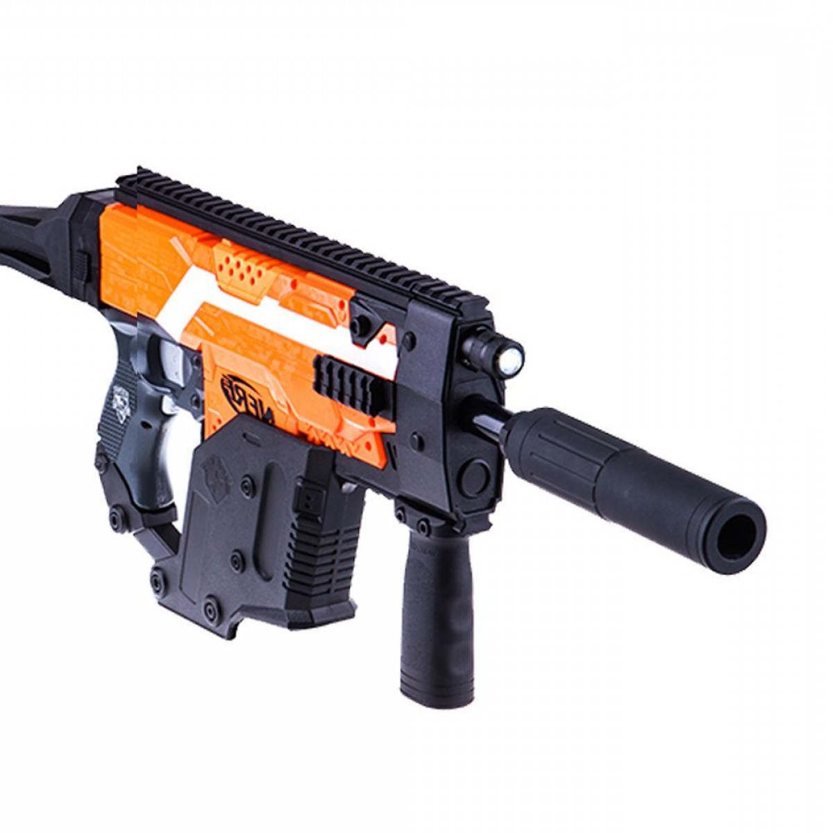 Vector Kriss Scope: Worker Mod Kriss Vector Picatinny Rail Mount Combo Items For Nerf Stryfe Toy