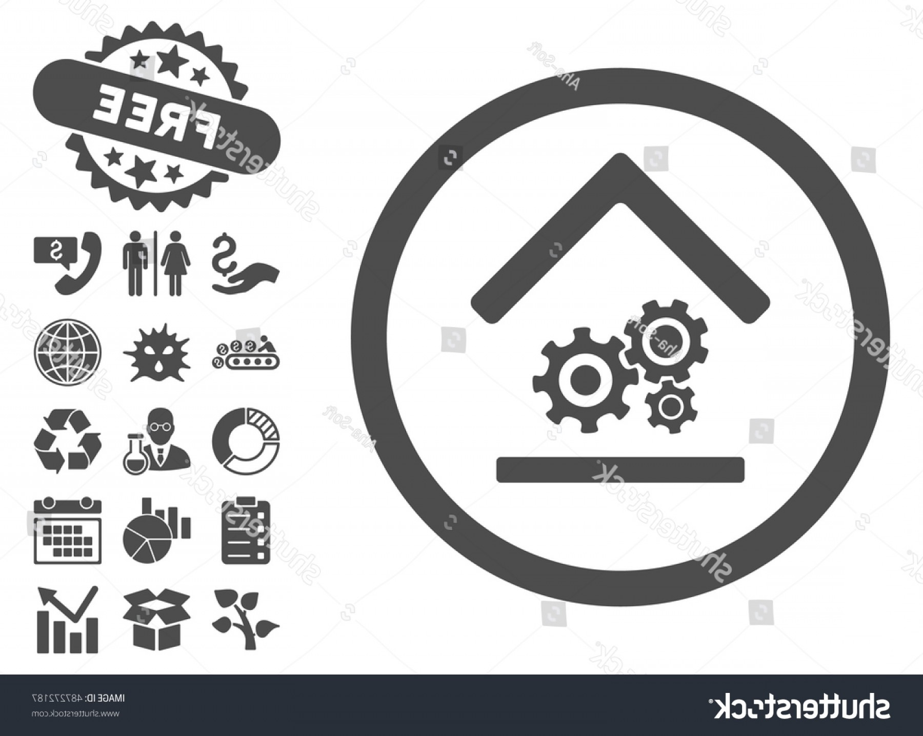 Workshop Icon Vector: Workshop Icon Free Bonus Elements Vector